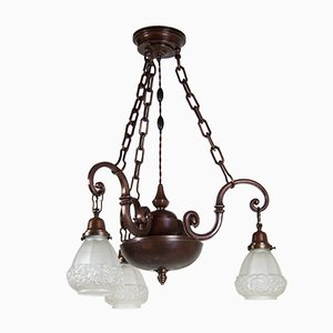 Antique Copper Chandelier