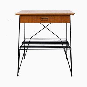 Mid-Century Teak Console Table