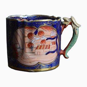 Antiker Ironstone Keramikbecher von Mason's, 1820er