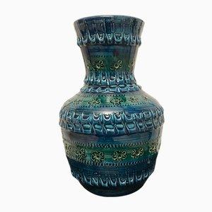 Vase von Aldo Londi für Bitossi, 1970er