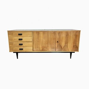 Sycamore Veneered Sideboard, 1950s
