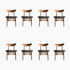 Model CH30P Dining Chairs by Hans J. Wegner for Carl Hansen & Søn, 1954, Set of 8
