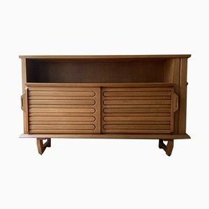 Mid-Century Sideboard by Guillerme et Chambron for Votre Maison