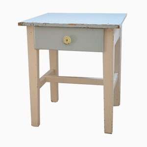 Pine Childrens Side Table, 1950s