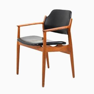 Dänischer Mid-Century Armlehnstuhl aus Teak von Arne Vodder für Sibast, 1960er