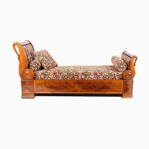 Antique German Chaise Lounge, 1830s