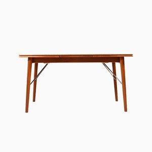 Table de Salle à Manger à Rallonge Mid-Century en Teck par Peter Hvidt & Orla Mølgaard-Nielsen pour Søborg Møbelfabrik