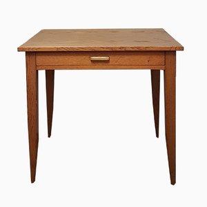 Table d'Appoint Vintage en Chêne