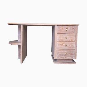 Vintage Limed Oak Desk