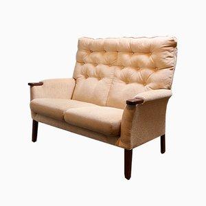 Kleines Vintage 2-Sitzer Sofa, 1950er