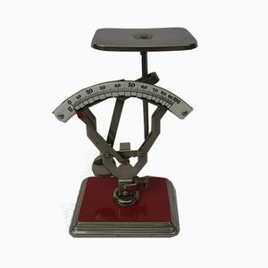 Vintage Letter Scale and Writing Set from Jakob Maul, Set of 2