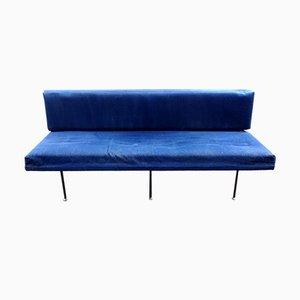 Divano nr. 32 blu di Florence Knoll Bassett per Knoll Inc./Kolloll International, anni '60