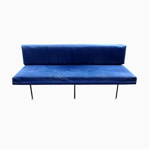 Model 32 Blue Sofa by Florence Knoll Bassett for Knoll Inc./Knoll International, 1960s