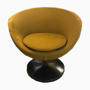 Mustard Yellow Lounge Chair by Pierre Guariche for Meurop, 1960s