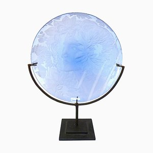 Murano Glass Decorative Plate by Galileo Chini for Salir, 1930s