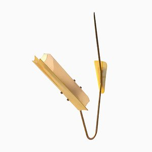 Plexiglass Rotatable Wall Sconce, 1950s