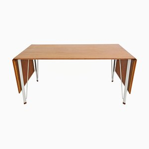 Mid-Century Teak Dining Table by Arne Jacobsen for Fritz Hansen