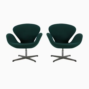 Club Chairs by Arne Jacobsen for Fritz Hansen, 1998, Set of 2