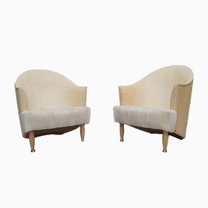 Large Italian Lounge Chairs from Pierantonio Bonacina, 1980s, Set of 2
