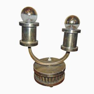 Mid-Century Tischlampe aus Messing