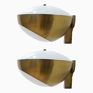 Sconces by Max Ingrand for Fontana Arte, 1960s, Set of 2
