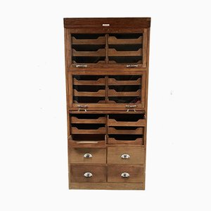 Antique Oak Cabinet from J.C.King.LTD, 1920s