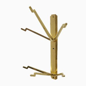 Mid-Century Brass Coat Rack, 1970s