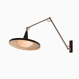 Lampada Panama di Wim Rietveld per Gispen, anni '50