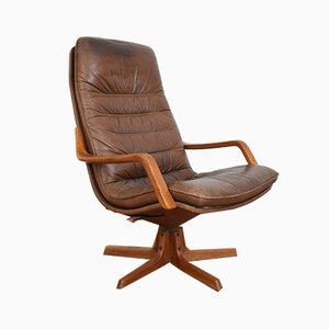 Sedia girevole C90 Mid-Century di Berg Furniture, anni '70