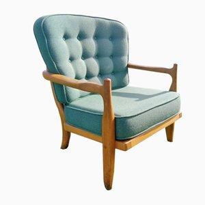 Lounge Chair by Guillerme et Chambron for Votre Maison, 1960s