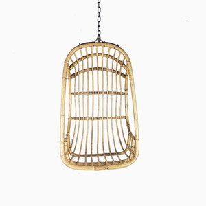Bamboo Hanging Chair, 1970s