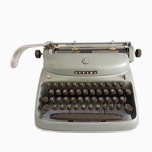 Máquina de escribir alemana con estuche de Alpina, años 60