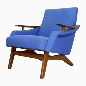 Mid-Century Dutch Lounge Chair, 1960s