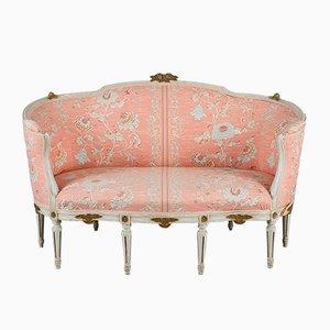 Canapé Style Gustavien Ancien