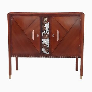 Art Deco Rosewood Buffet by Emile Cambier, 1920s