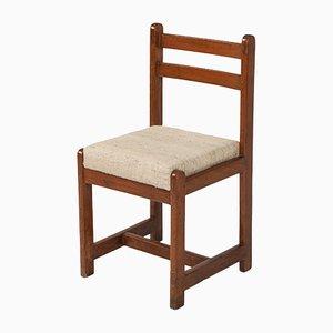 Chandigarh Beistellstuhl von Pierre Jeanneret, 1960er
