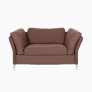 Vintage Brown Model Loveseat Armchair from Machalke