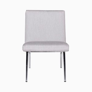Vintage Gray Armchairs from Walter Knoll, Set of 3
