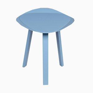 Vintage Light Blue Metal Footstools from Freistil Rolf Benz, Set of 2