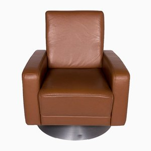 Vintage Cognac Leather Armchair from Himolla
