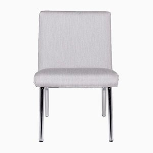 Vintage Gray Fabric Armchair from Walter Knoll