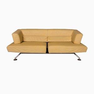 Vintage Modell Circum Sofa & Hocker in Gelb von COR, 2er Set