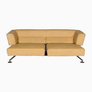 Vintage Model Circum Yellow Leather Couch from COR