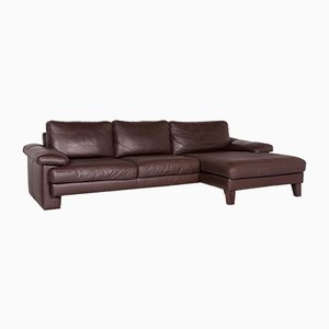 Vintage Leather Corner Sofa from Machalke