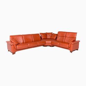 Vintage Leather Corner Sofa by Kein Designer