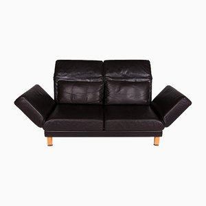 Vintage Leather 2-Seat Sofa from Brühl & Sippold