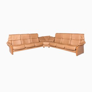 Vintage Leather Corner Sofa from Stressless