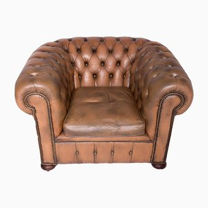 Vintage Leather Armchair from Chesterfield