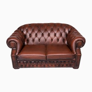Vintage Leather 3-Seat Sofa from Centurion
