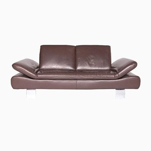 Vintage Leather 2-Seat Sofa from Willi Schillig